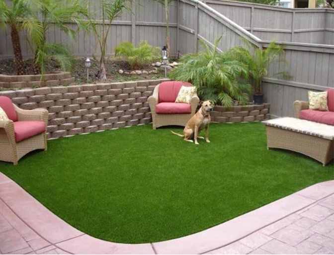 Pet Turf Install. Artificial Pet Turf System