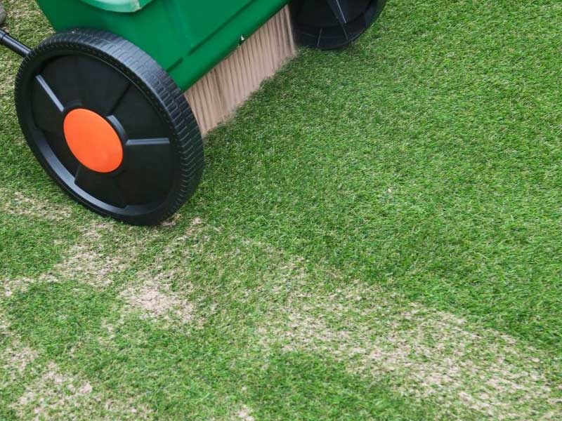 Artificial Grass Spot Leveling