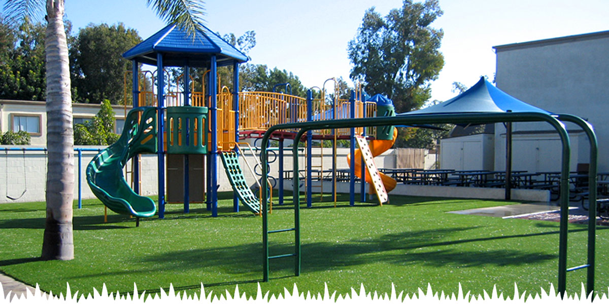Commercial Synthetic Grass Applications