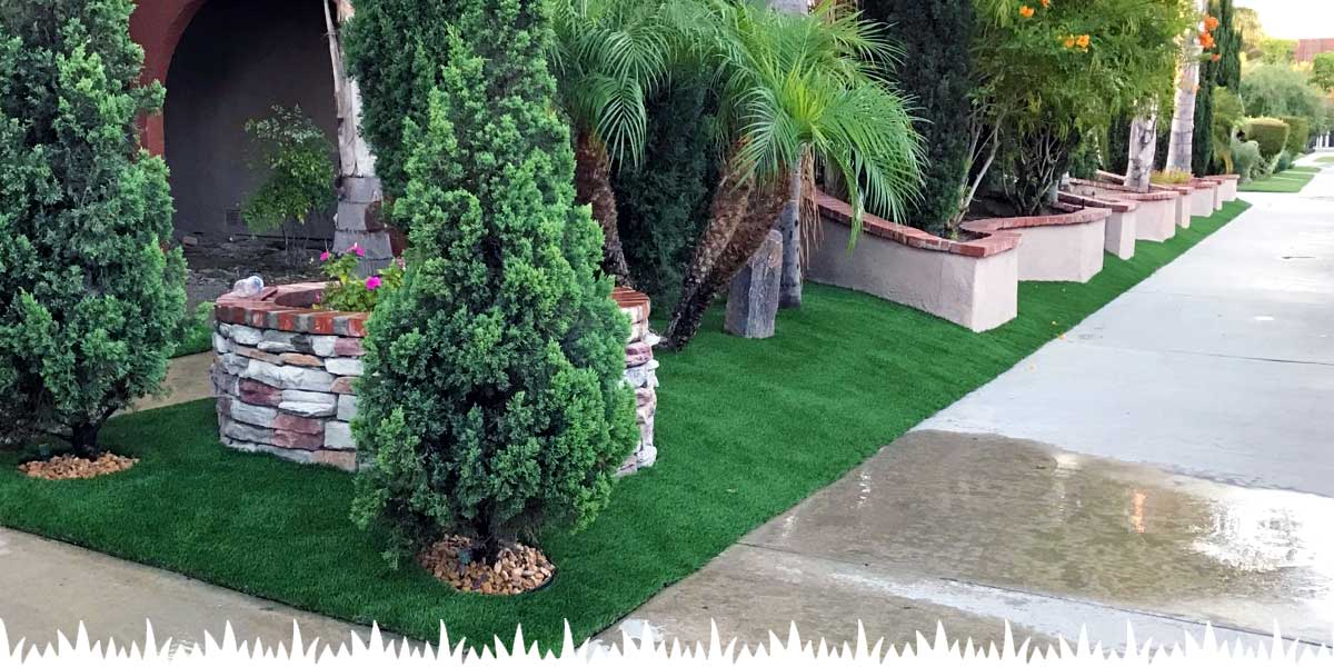 Commercial Synthetic Grass Install Orange County