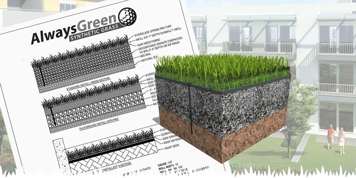 Commercial Synthetic Grass Installation Process
