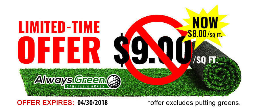 Cheap Artificial Grass 2018 Special Offer