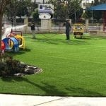 Playground Artificial Grass Install