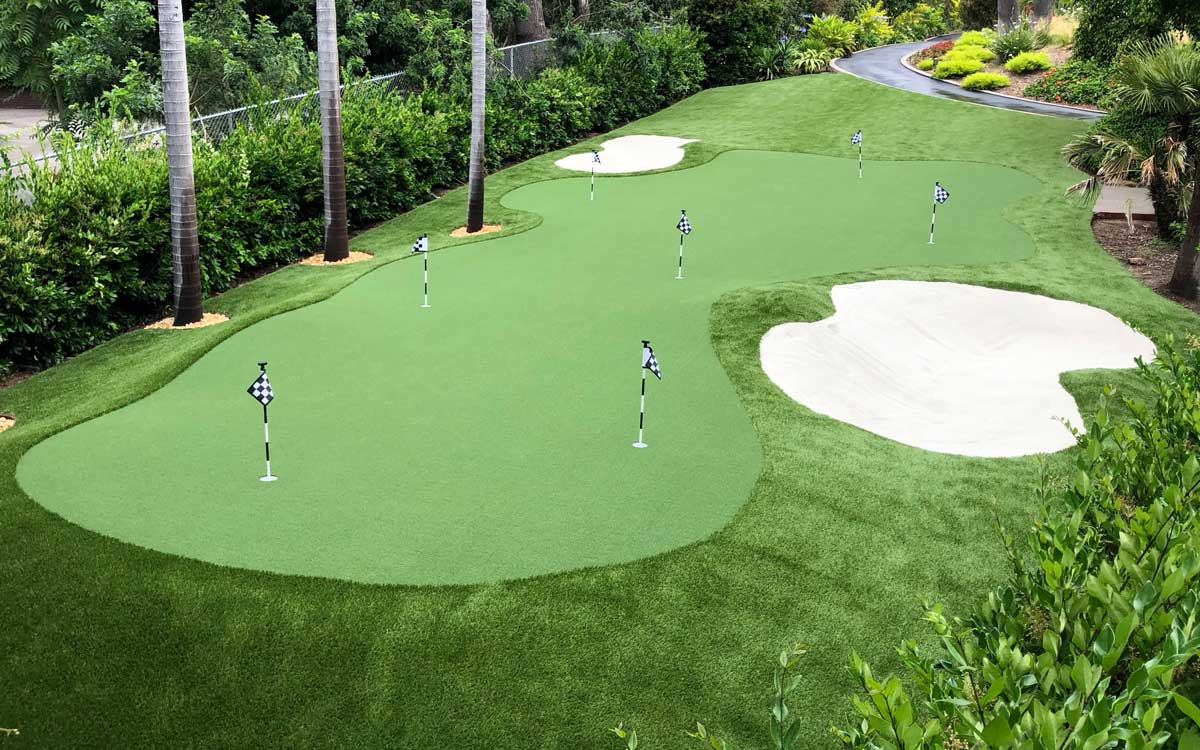 Putting Greens Photo Gallery – Always Green Synthetic Grass